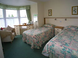 bed and breakfast room in this guest house in betws-y-coed, snowdonia